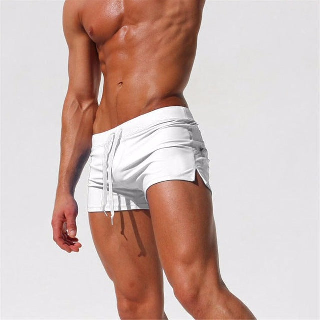 Swimwear Men Breathable Men's Swimsuits Trunks Boxer Briefs Sunga SwimSuits Maillot De Bain Beach Shorts 2018 New Fashion