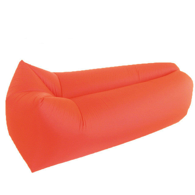 Inflatable Hammock Sofa - Air Bed-hipnfly-Orange Square-hipnfly