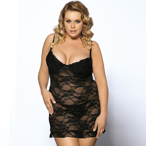 RI7335 Hot Sale Sex Strapless Sleepwear Many Color Babydoll Lingerie Sexy Big Size Erotic Dress Ropa Interior Mujer Sexy Erotica-hipnfly-Black-M-hipnfly