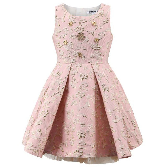 Baby Girl Princess Dress 3-12 Years Kids Sleeveless Autumn Winter Dresses for Toddler Girl Children Fashion Clothing-hipnfly-02-8T-hipnfly