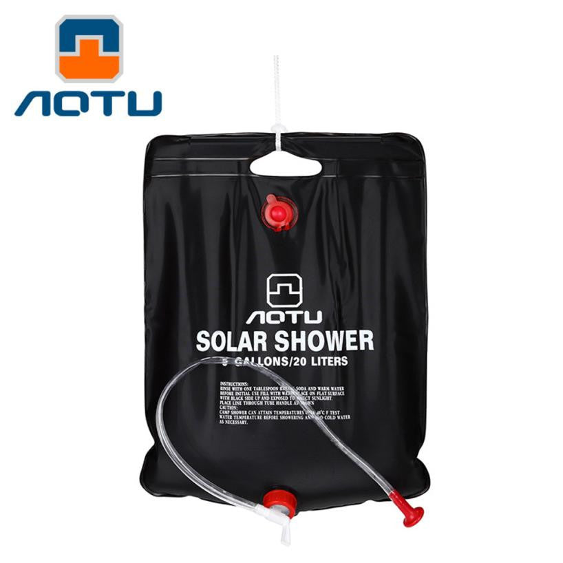 Outdoor Hiking Camping Solar Shower Bags 40L Portable Water Bag Outdoor Bathing#-hipnfly-hipnfly