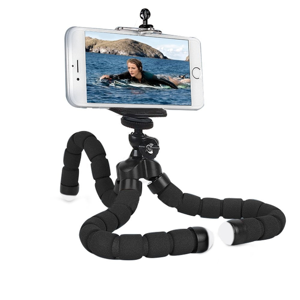 Phone Holder Flexible Octopus Tripod, Bracket Stand Mount bike bicycle Monopod Styling Accessories For Mobile Phone Camera