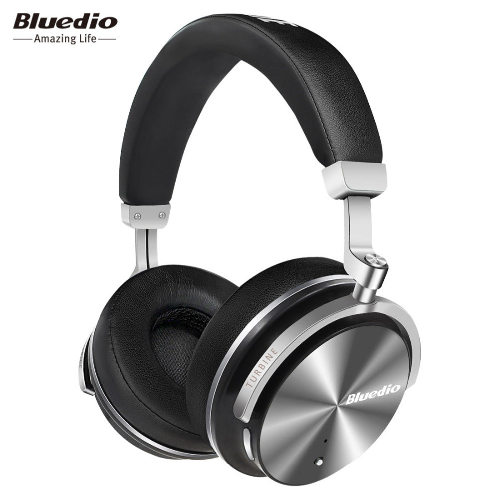 Bluedio T4S Active Noise Cancelling Wireless Bluetooth Headphones wireless Headset with microphone for phones-hipnfly-hipnfly