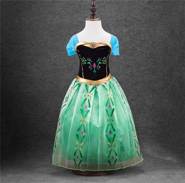 keaiyouhuo Summer Kids Wedding Flower Girls Dress For Girls Princess Dress Infant Girls Party Dresses For Girl Children Clothing