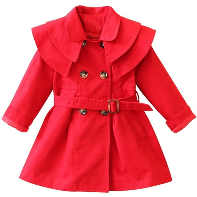 New Girls jacket children's clothing girl trench coat kids jacket hooded girl coats Winter Trench Wind Dust Hooded Outerwear-hipnfly-as picture 15-2T-hipnfly