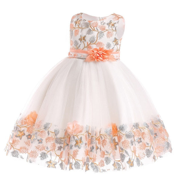 Children's dress 2018 new 3 4 5 6 7 8 years old lace color matching girls princess party dress summer baby tutu clothing-hipnfly-hipnfly