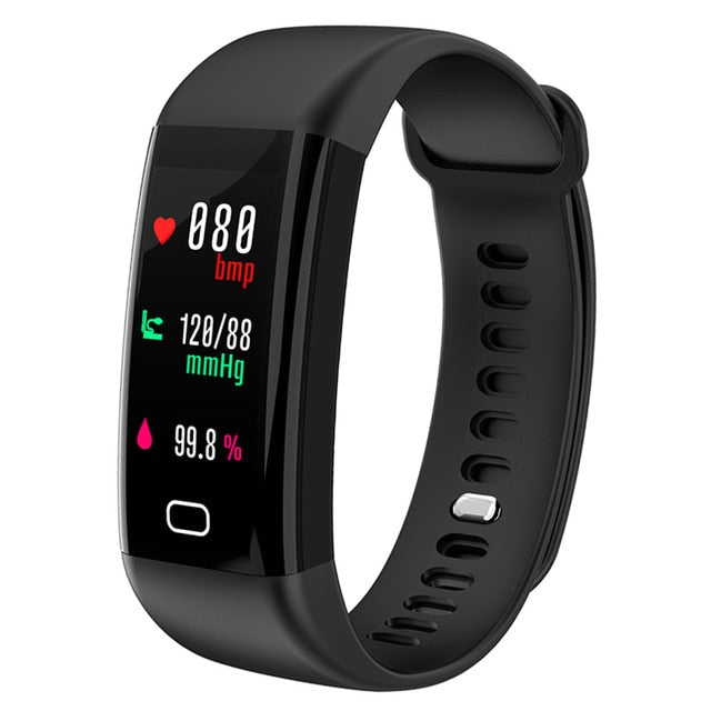 KAIHAI H20 Swim fitness tracker blood pressure heart rate monitor wristwatch sport smart bracelet band Waterproof IP68 Wristband-hipnfly-Black-hipnfly