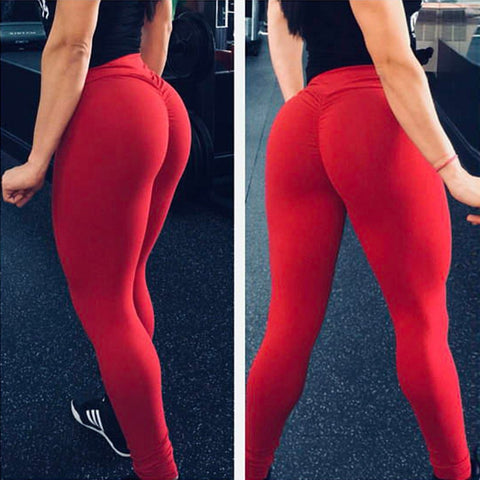 12 Colors Women Leggings Polyester Quality High Waist Push Up Elastic Casual Workout Fitness Sexy Pants Bodybuilding Legging-hipnfly-hipnfly