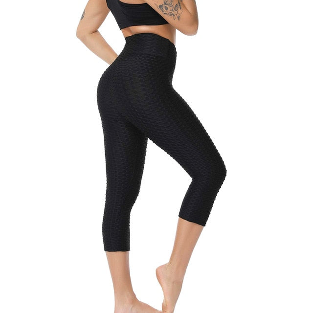 2019 New Fashion Sexy Women Anti-Cellulite Compression Leggings Slim Fit Butt Lift Elastic Pants LBY2019