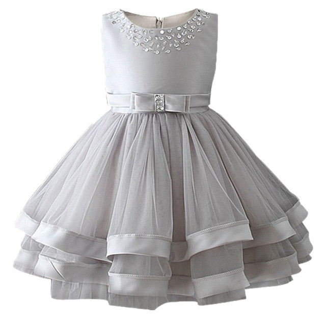 Baby Girls Party Dress 2018 Elegant Girl Evening Dress For Wedding Birthday Kids Dresses For 2 to 10 yeas Girls Clothes-hipnfly-hipnfly