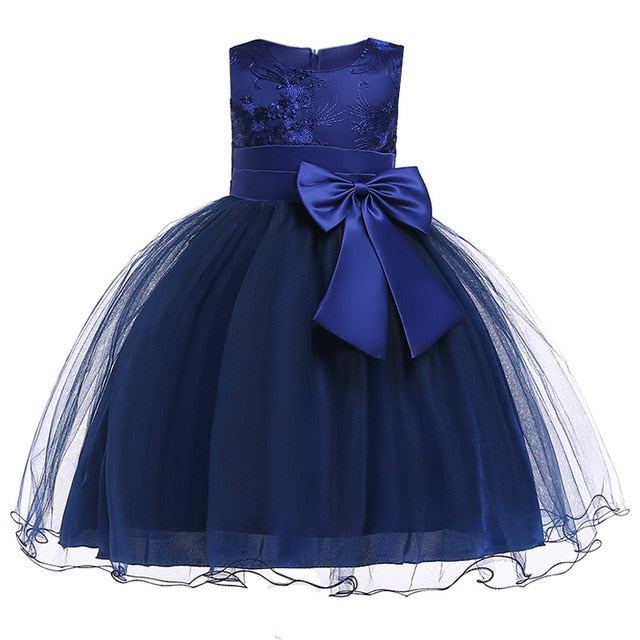 Summer Girls floral Princess party Dresses Costume Kids Girls clothes wedding birthday For Girls Dress tutu baby Girls clothing-hipnfly-hipnfly