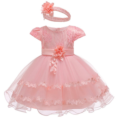2019 Summer Easter Baby Girl Clothes Wedding Newborn Dress For Girl Princess Dress Infant 1 Year First Birthday Girl Party Dress