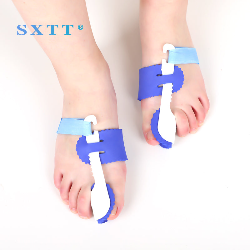 SXTT Toe Thumb valgus Correction Night Corrector Thumb Foot Brace Flat Feet Relieve Pain Comfortable Shoes Orthotic Insoles