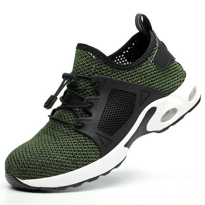 Indestructible Sneaker Shoes Indestructible Safety Shoes-hipnfly-H04 green-5-hipnfly
