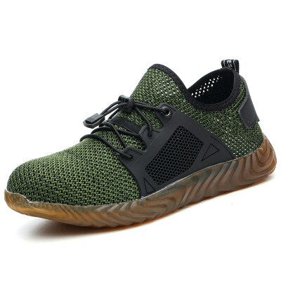 Indestructible Sneaker Shoes Indestructible Safety Shoes-hipnfly-H03 green-5-hipnfly