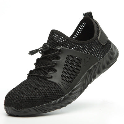 Indestructible Sneaker Shoes Indestructible Safety Shoes-hipnfly-H03 black-6-hipnfly