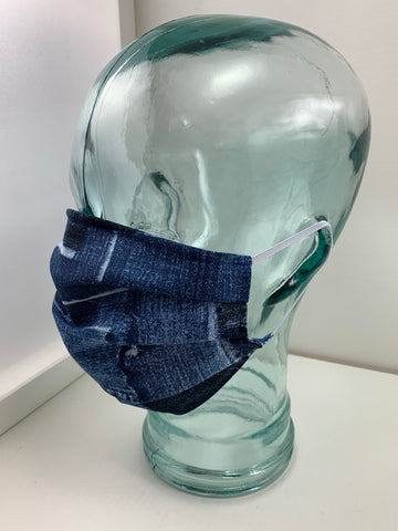 Fashionable Face Mask in Denim
