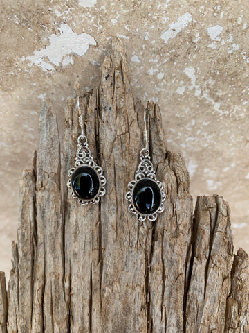Onyx Dangle Earring