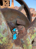 Swirls & Kingman Turquoise ring size 9