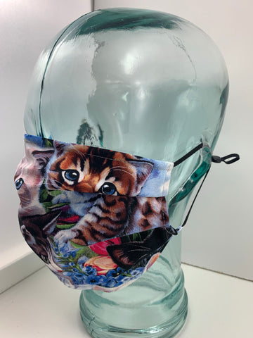 Fashionable Face Mask in Cats