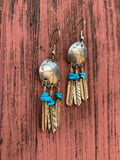Dreamcatcher Turquoise earrings