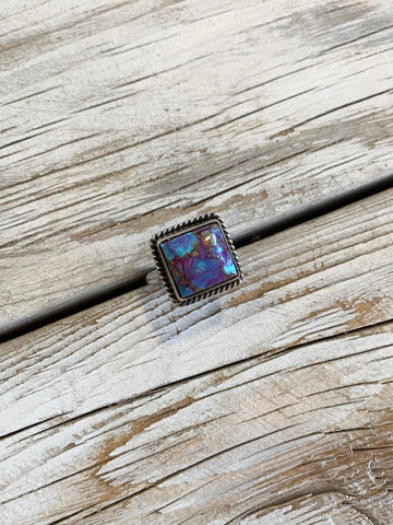 Purple Mohave Turquoise ring size 9