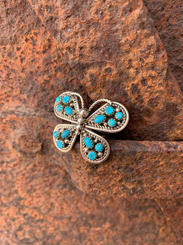Butterfly of Turquoise ring size 9