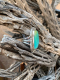 Ombre Number 8 Turquoise ring size 6 1/2