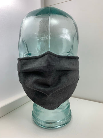 Fashionable Face Mask in Grey Variegated