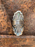 Statement Concho ring size 7 1/2
