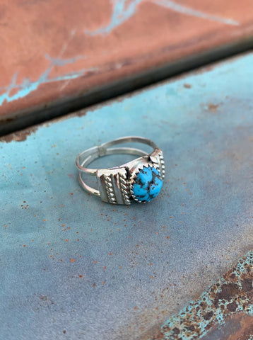 Sleeping Beauty Turquoise ring size 8 1/4