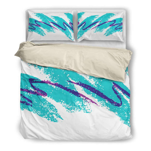 Brush Stroke Bedding Set - GreatGiftItems.com