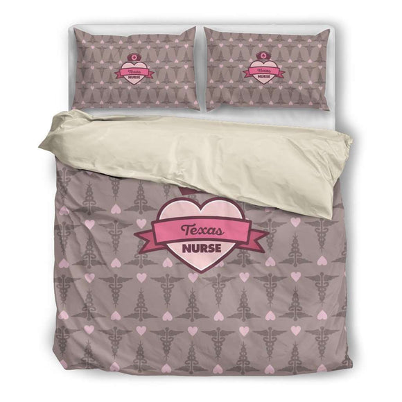 Coco Texas Nurse Bedding Set - GreatGiftItems.com