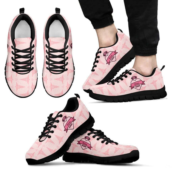 Men's Pink Texas Nurse Sneakers