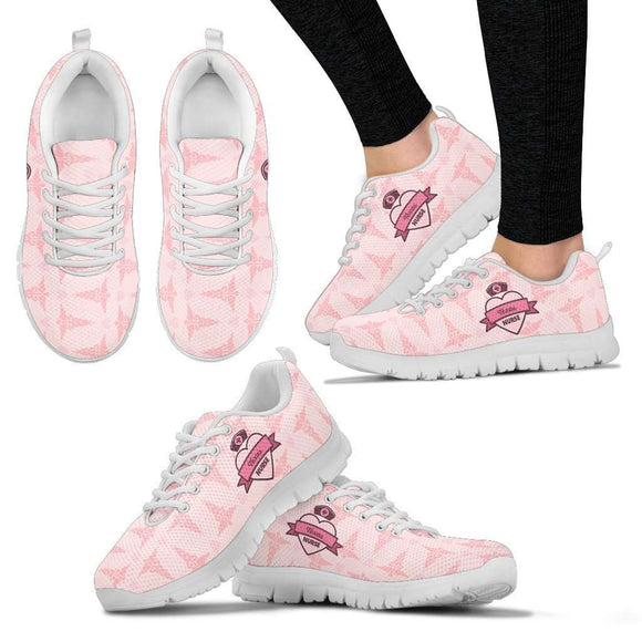Lady's Pink Texas Nurse Sneakers