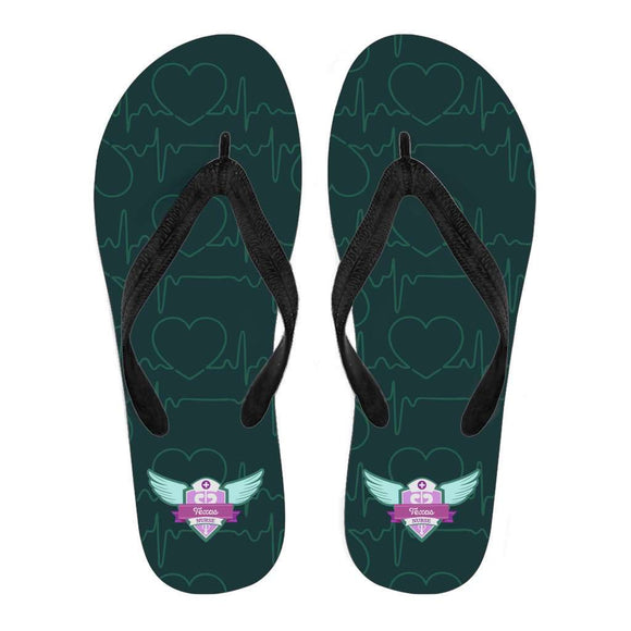 Men's Green Texas Nurse Flip Flops