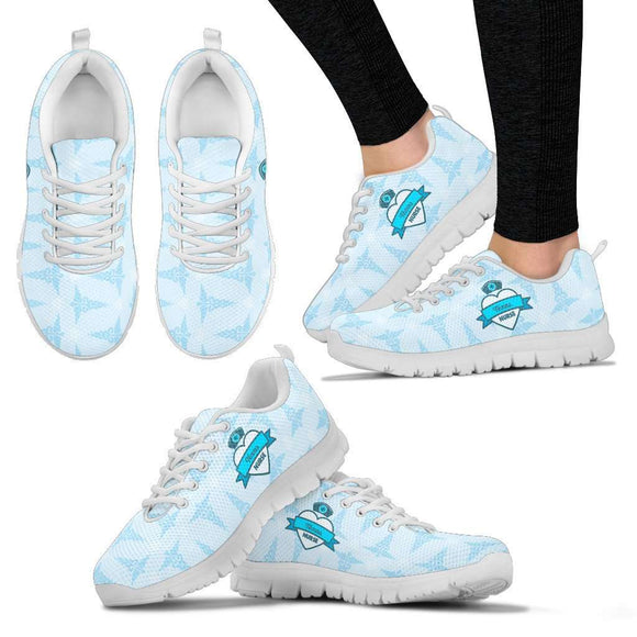 Lady's Blue Texas Nurse Sneakers