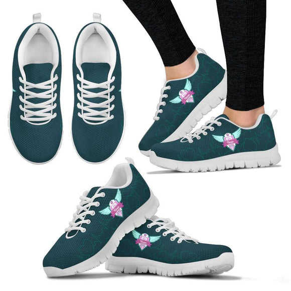 Lady's Green Texas Nurse Sneakers