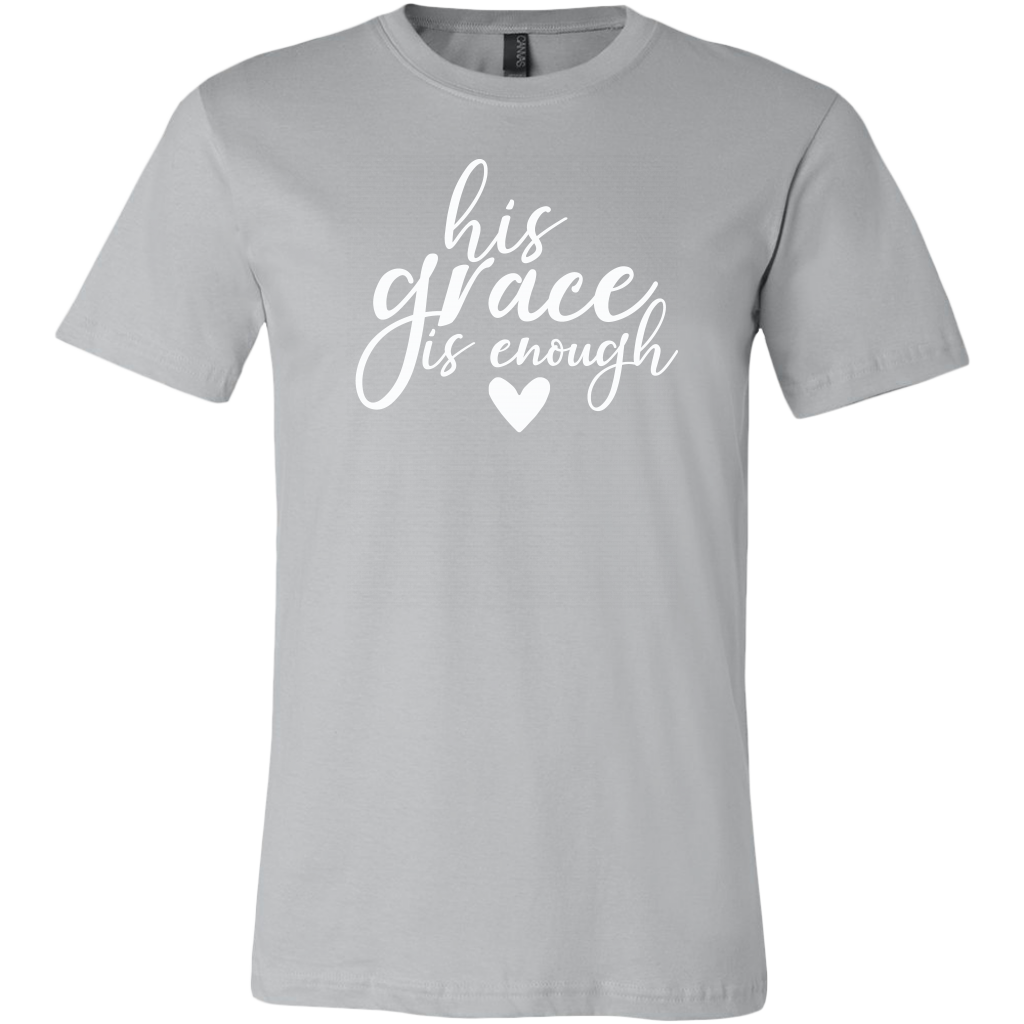 His Grace Is Enough Solid Color T-Shirt
