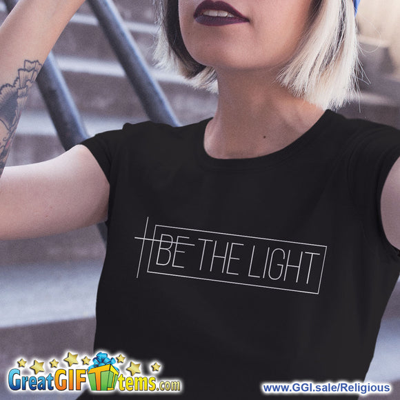Be The Light Solid Color T-Shirt