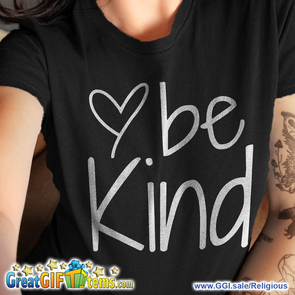 Be Kind Solid Color T-Shirt