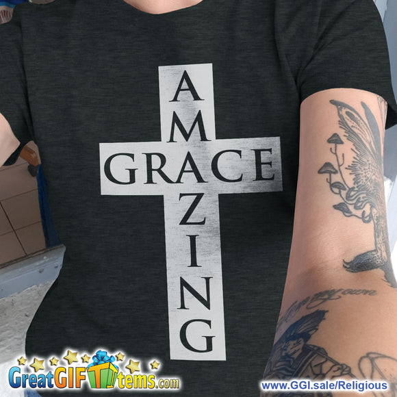 Amazing Grace Heather Color T-Shirt
