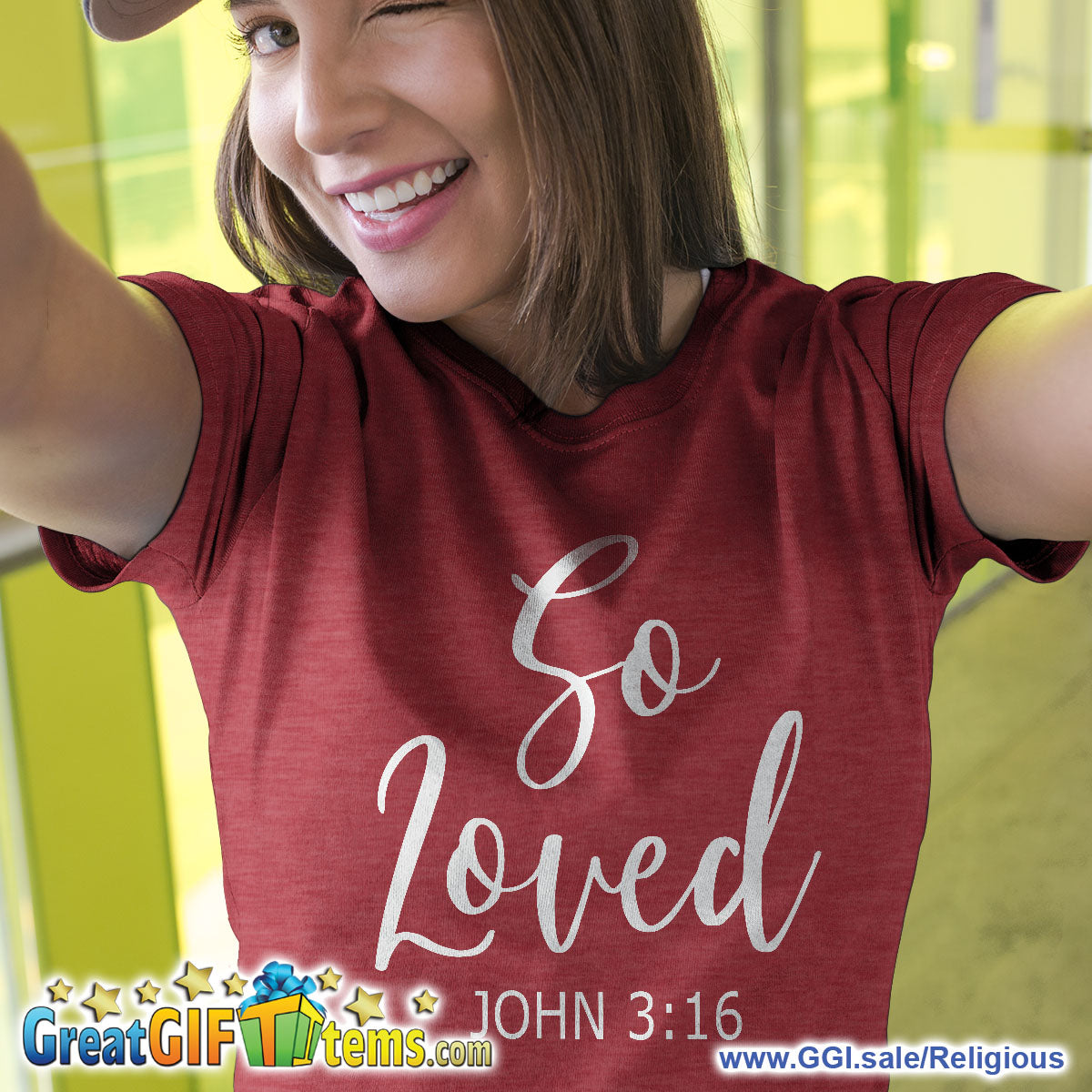 So Loved Heather Color T-Shirt