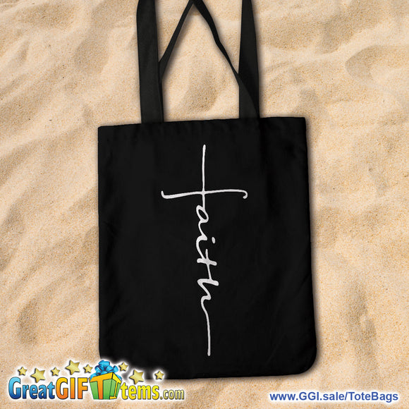 Faith Canvas Tote Bag - FREE THIS WEEK ONLY