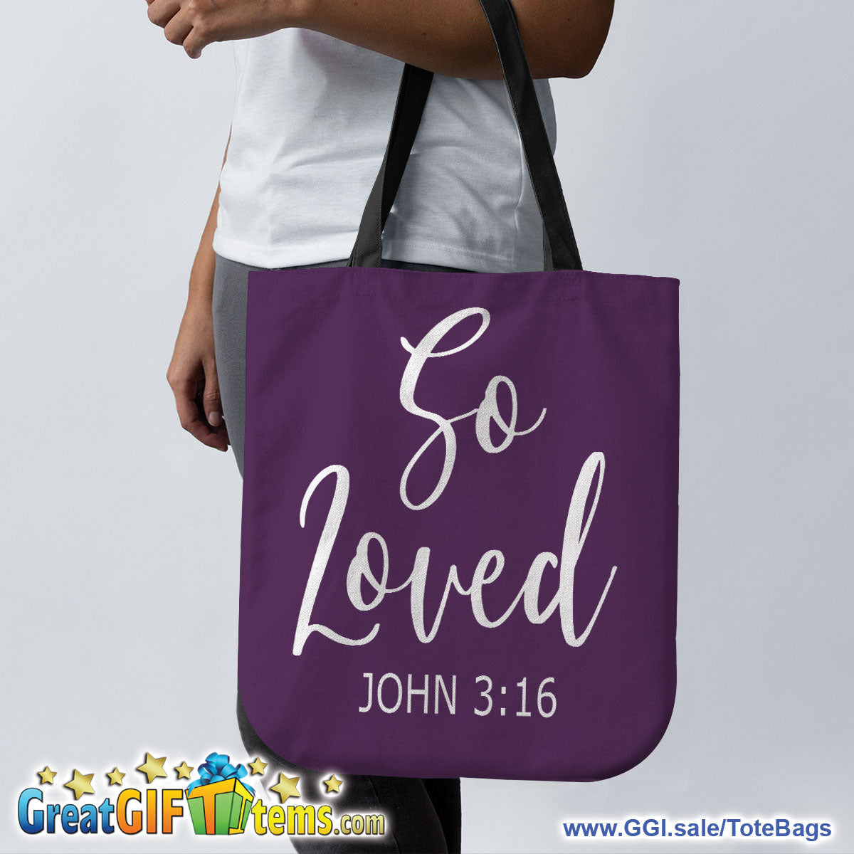 So Loved Canvas Tote Bag For Your Personal Items