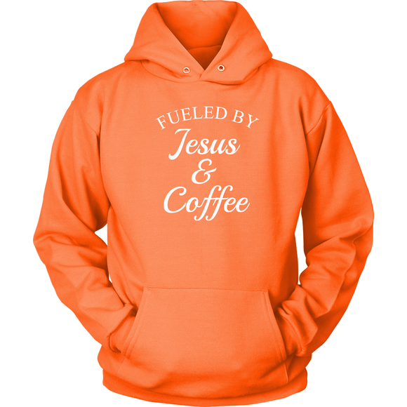 Fueled By Jesus & Coffee Hoodie