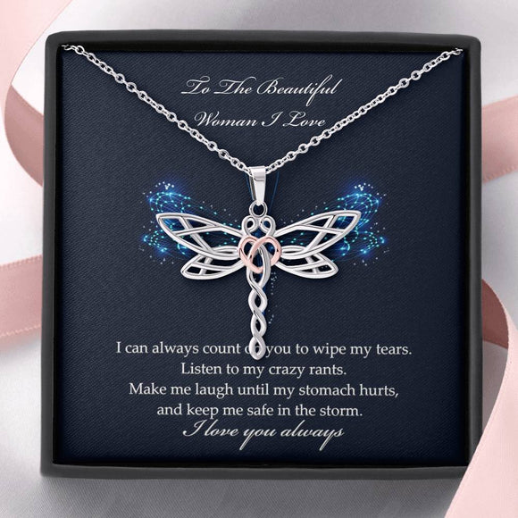 Enchanted Dragonfly Necklace 30% OFF