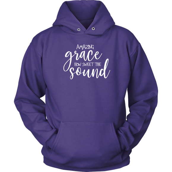 Amazing Grace How Sweet That Sound Hoodie
