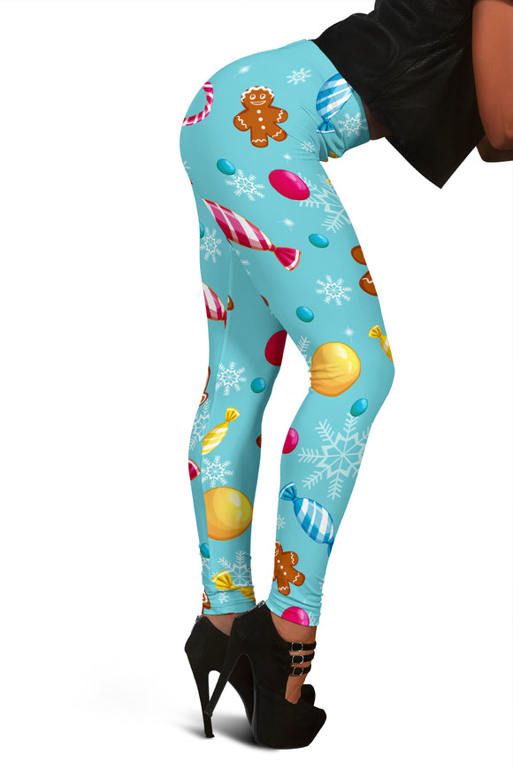 Christmas Leggings For Women Who Having A Sweet Christmas