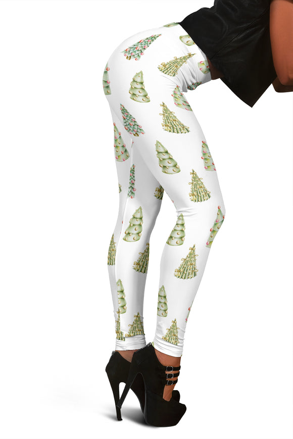 Christmas Leggings For Women Who Love To Decorate The Christmas Tree